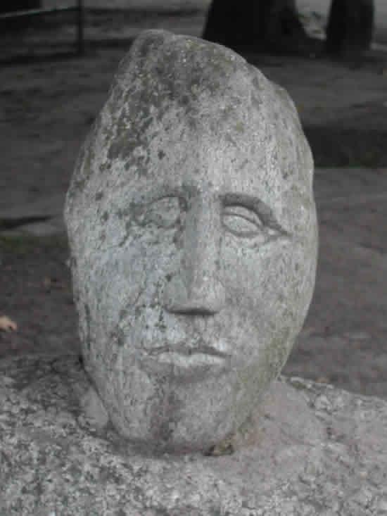Stein gefunden in Dangast in strandnähe