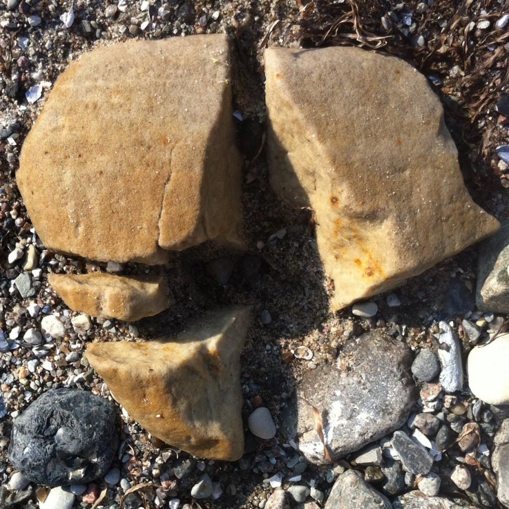 Stein-Fragmente