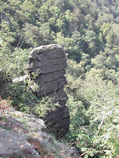 Stein am Hang